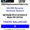 HS-200 #5 filter label
