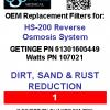HS-200 #1 filter label